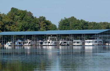 Picture of a Kentucky State Park marina