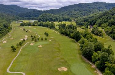Pine Mountain Golf Course Aerial